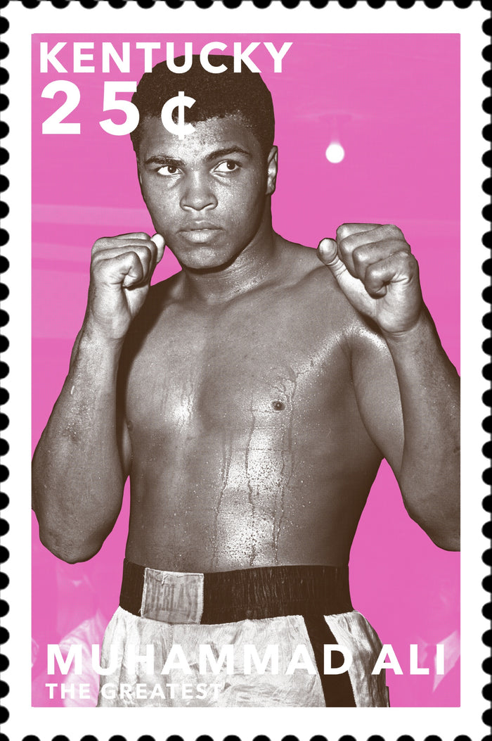 Stamps of Icons: Ali
