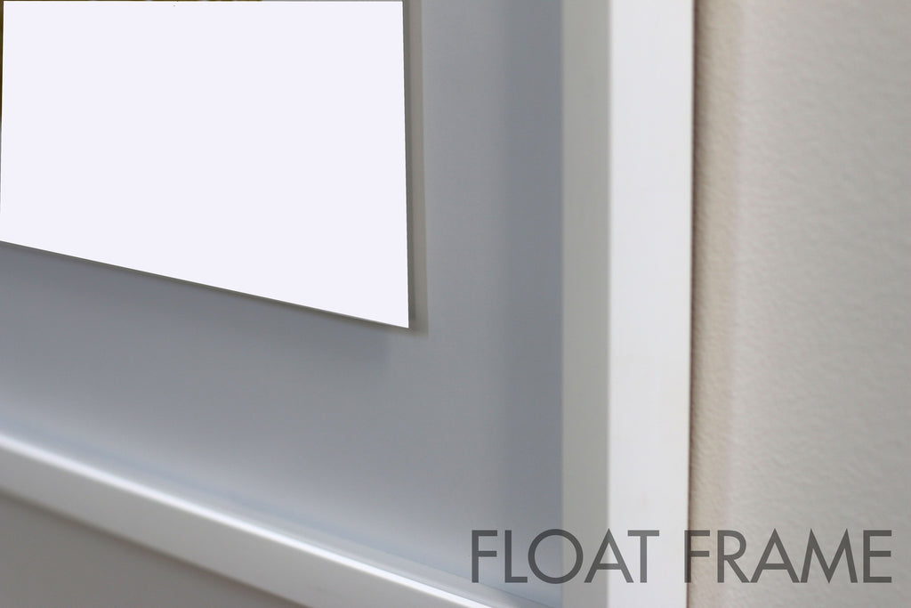 Float Frame Up-close