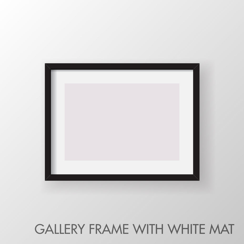 Gallery Frame with Mat