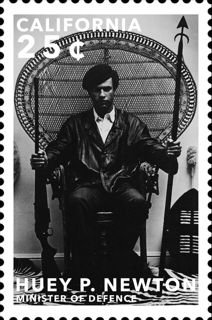Stamps of Icons: Huey P Newton