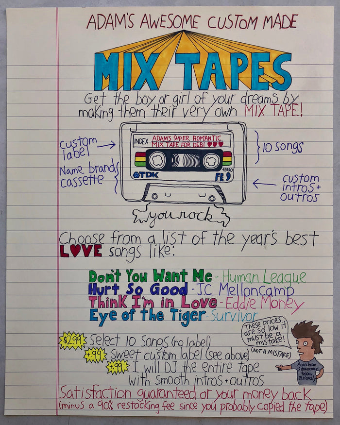 Mix Tapes AP original