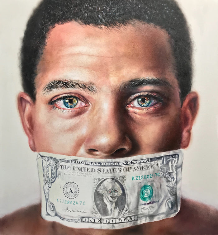 'Money Talks' Giclée Print