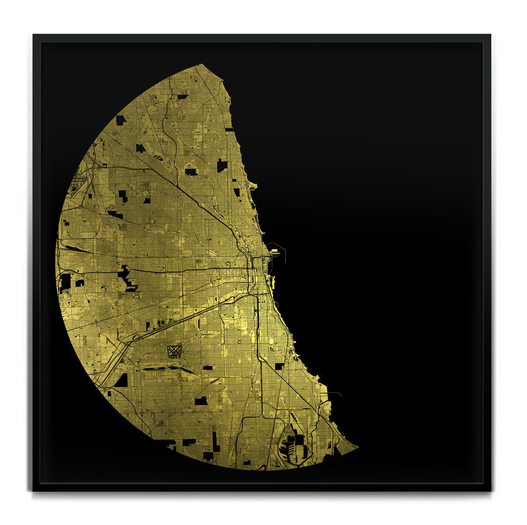 Mappa Mundi Chicago (Greater) (24 Karat Gold)