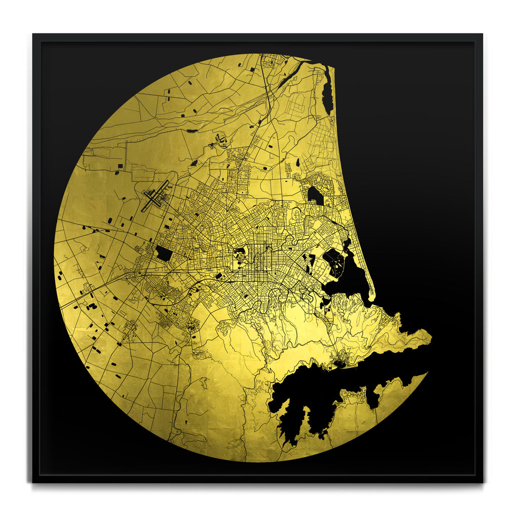 Ewan David Eason_Mappa Mundi Christchurch_Black24K