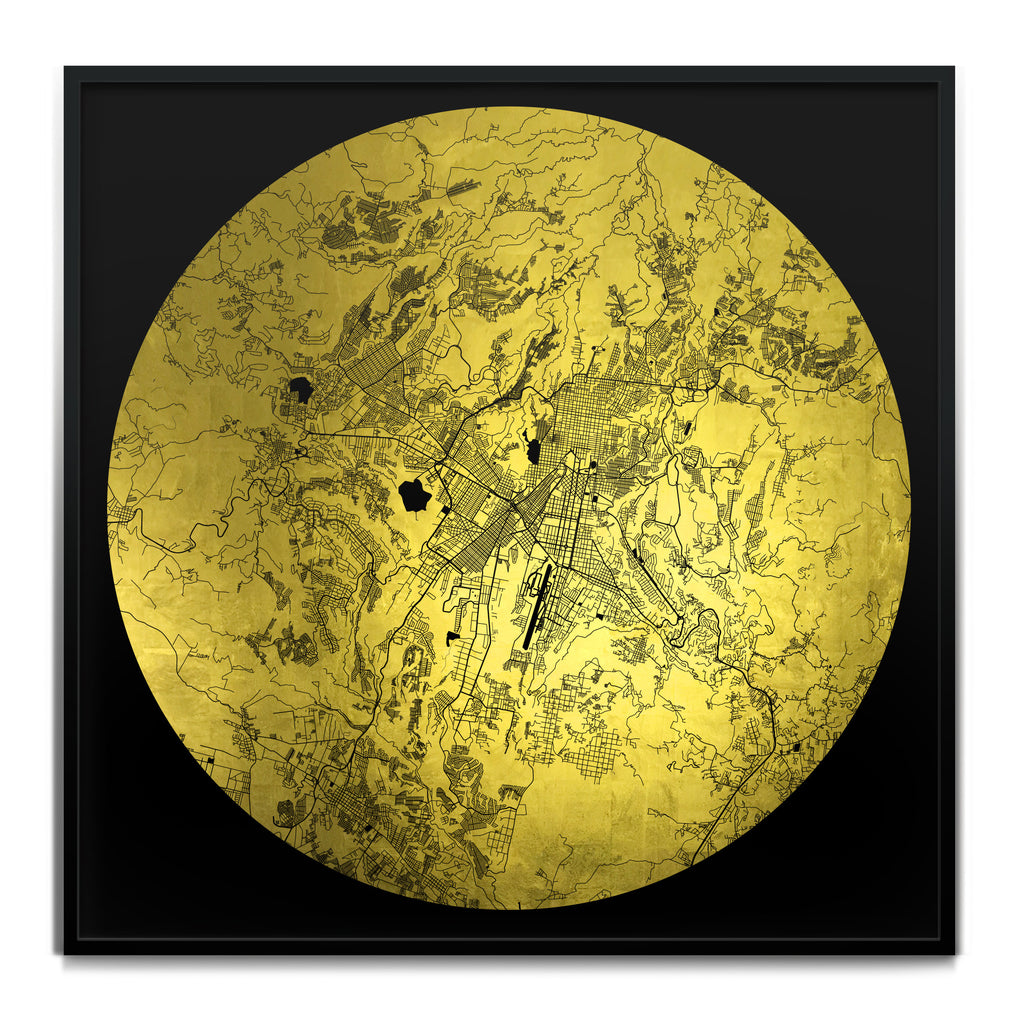 Ewan David Eason_Mappa Mundi Guatemala City_Black24K