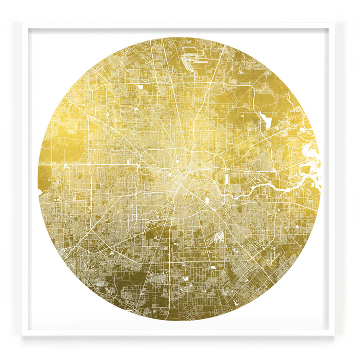 Mappa Mundi Houston (24 Karat Gold)