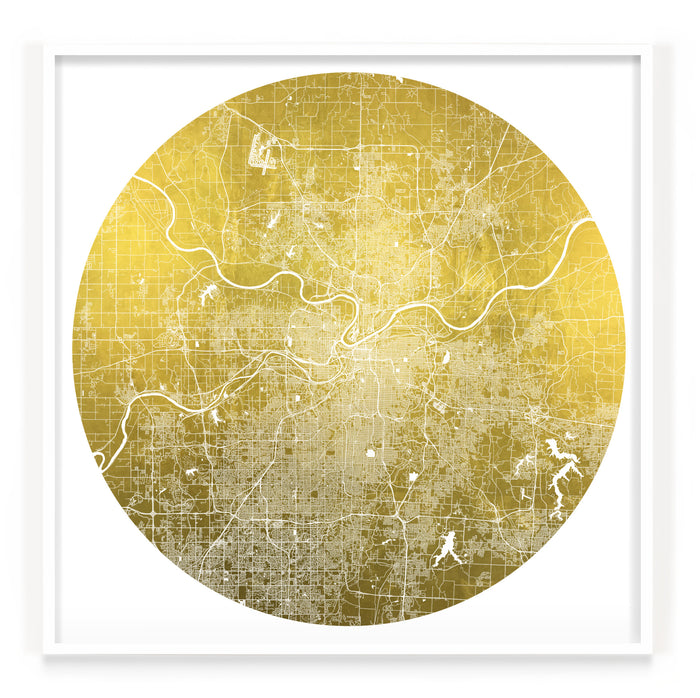 Mappa Mundi Kansas City (24 Karat Gold)