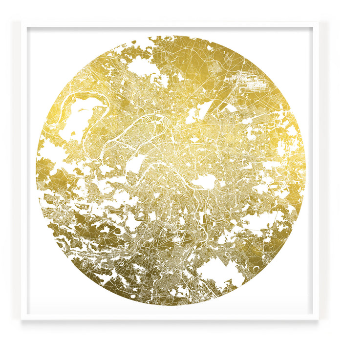 Mappa Mundi Paris (Greater) (24 Karat Gold)