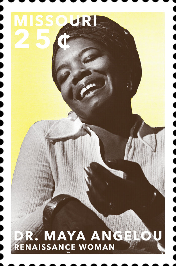 Stamps of Icons: Maya Angelou