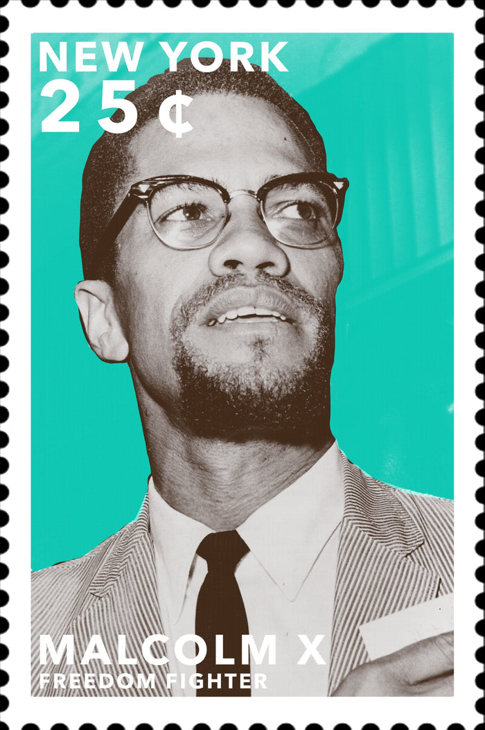 Stamps of Icons: Malcolm X