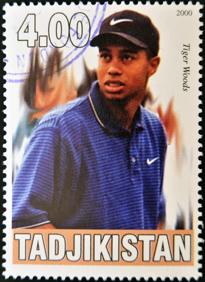 Stamps of Icons: Tiger Woods