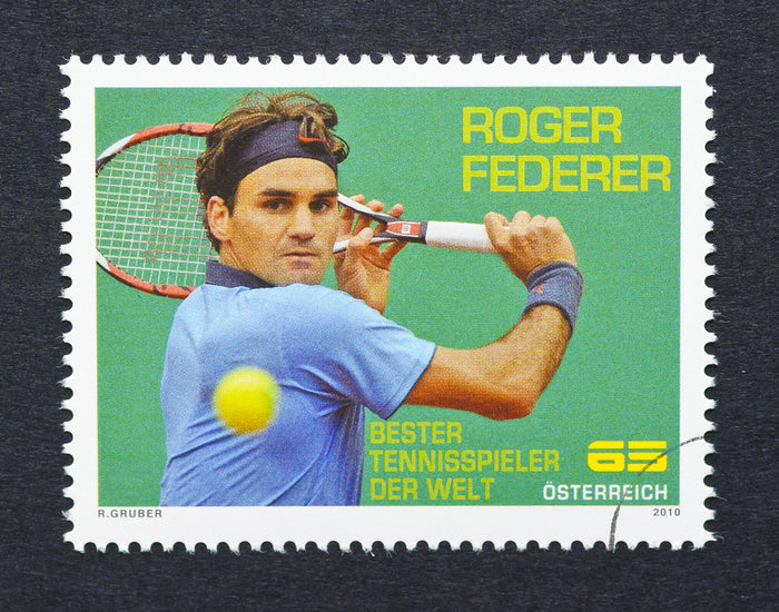 Stamps of Icons: Roger Federer