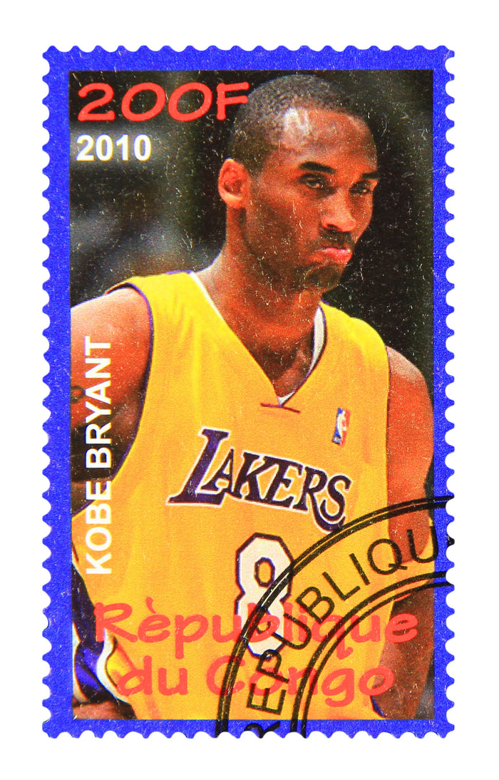 Stamps of Icons: Kobe Bryant
