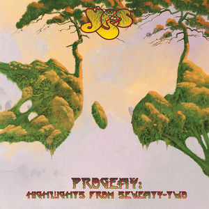 Yes ♦ Progeny: Highlights from Seventy-Two (180 Gram Vinyl, 3LP)