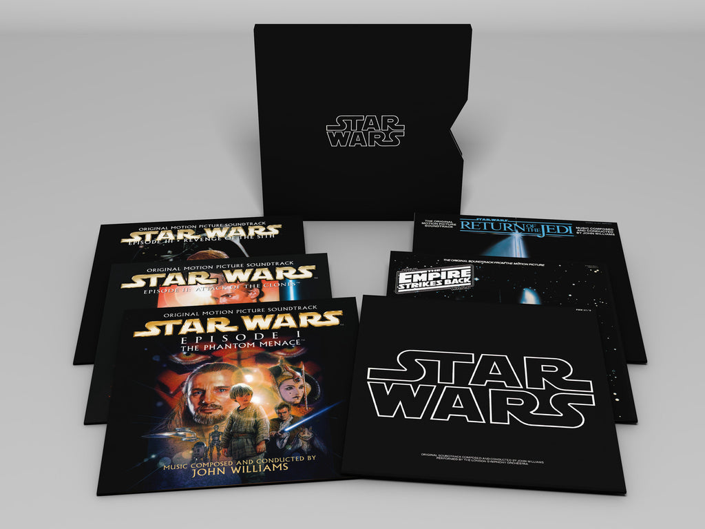 John Williams ♦ Star Wars: The Ultimate Vinyl Collection (180 Gram Vinyl, Download Insert, 11PC)