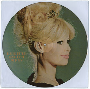 Brigitte Bardot ♦ Sings (Picture Disc Vinyl LP)