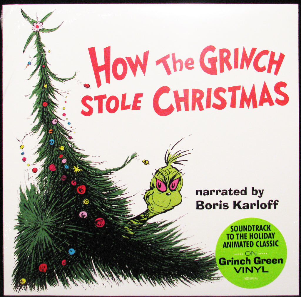 How the Grinch Stole Christmas / O.S.T. (Colored Vinyl, Green)