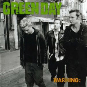 Green Day ♦ Warning (Coke Bottle Green Vinyl)