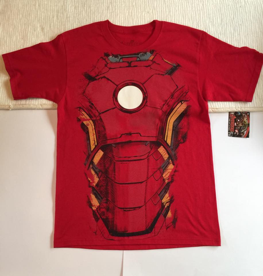 Playera Iron Man