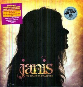Janis Joplin ♦ Classic LP Collection (Limited Edition, 180 Gram Vinyl, Boxed Set, 4LP)