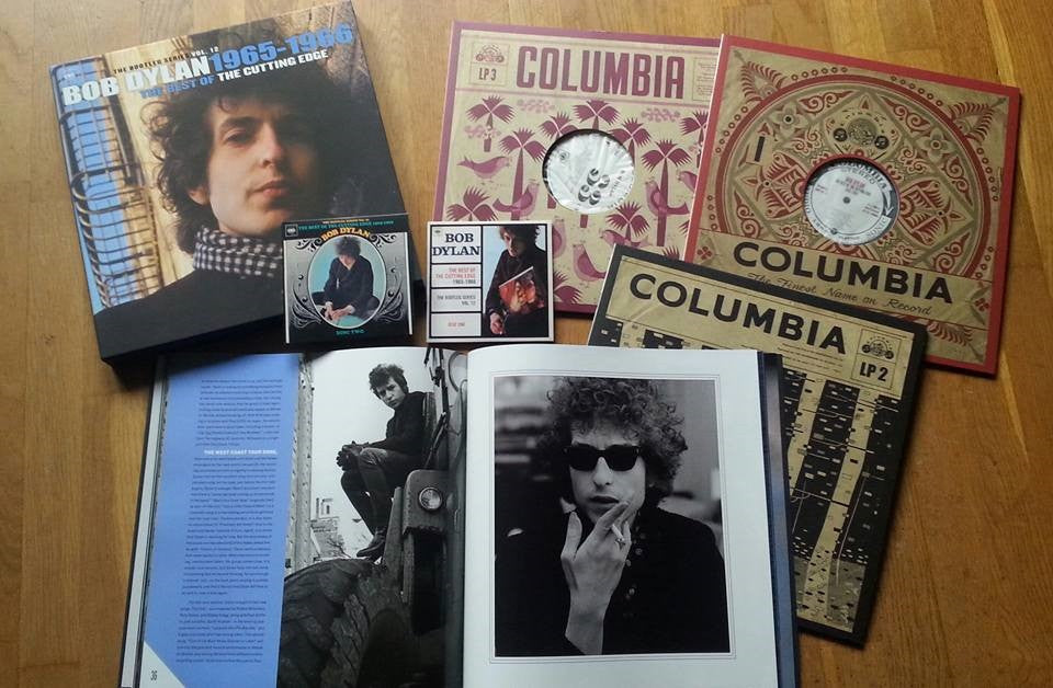 Bob Dylan ♦ Best of the Cutting Edge 1965-1966: The Bootleg 12 (With CD)