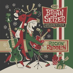 Brian Setzer Orchestra ♦ Rockin Rudolph (Colored Vinyl, Green, Digital Download Card)