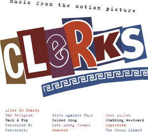 Various Artists ♦ Clerks O.S.T. / Various (Black, Clear Vinyl, 180 Gram Vinyl, Anniversary Edition, 2LP)