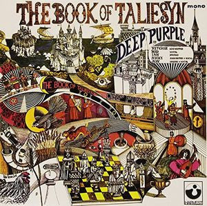 Deep Purple ♦ Book of Taliesyn (White Vinyl) [Import] (Colored Vinyl, Italy - Import)