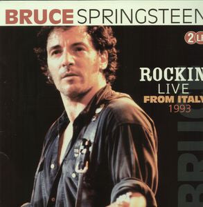 Bruce Springsteen ♦ Rockin'-Live from Italy-1993     (2LP)