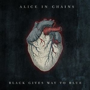 Alice in Chains ♦ Black Gives Way to Blue (Clear Vinyl, Gatefold LP Jacket)