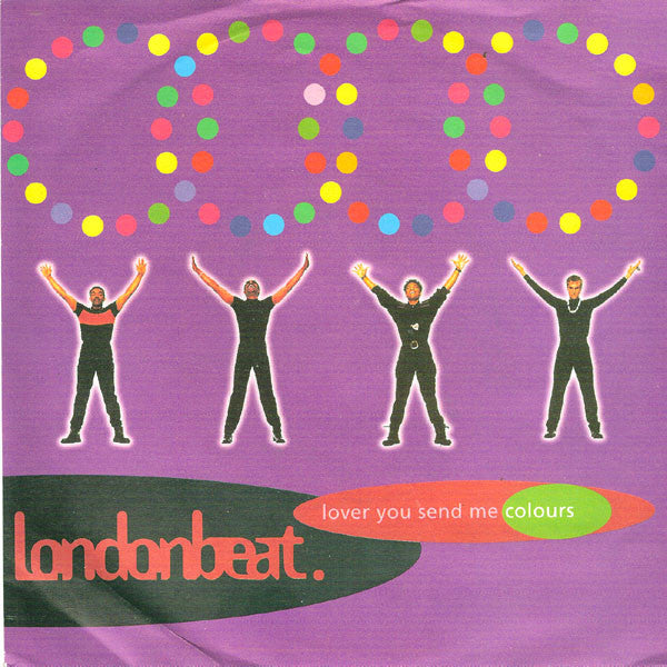 "Londonbeat ♦ lover You Send Me Colours (Remix 12"" Importaado)"