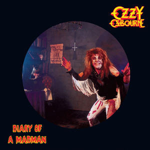 Ozzy Osbourne ♦ Diary of a Madman (Picture Disc) (Picture Disc Vinyl LP, Remastered)