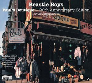 Beastie Boys ♦ Paul's Boutique 20th Anniversary Edition (180 Gram Vinyl, Remastered)