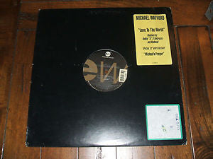 "Michael Watford ♦ love to the world (Remix 12"" Importado)"