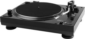 Music Hall USB-1 Turntable (Belt Drive, Black, RCA Outputs, Usb Conversion)