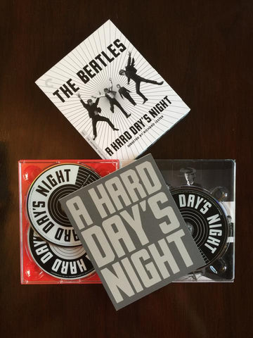 Beatles ♦ A Hard Day's Night (Criterion Collection) Dual-Format Blu-Ray and DVD