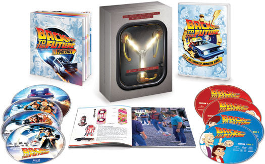 Back to the Future: The Complete Adventures (Limited Edition, With Blu-ray, Boxed Set, With Book, Digibook Packaging)