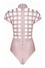 Pink Cage Bodysuit