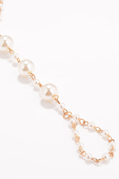 Pearl Gold Foot Chain