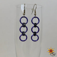 3-Ring Circus Earrings