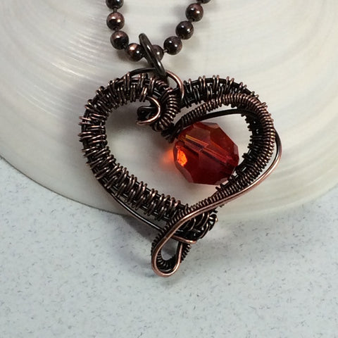 Fire Inside My Heart Pendant