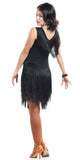 """Dellagio Black"" Latin Dress"