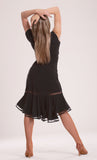 """Morena"" Latin Dance Skirt - DanceLuxe Boutique"