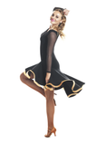 """La Classique"" Latin Dance Dress - DanceLuxe Boutique"