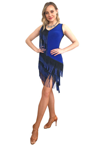 """Bliss"" Latin Dance Dress"
