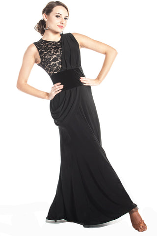 """Goddess of Dance"" Ballroom Dance Dress"