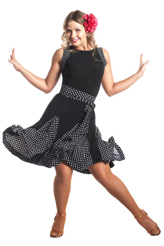 """Let's Swing"" Latin Dance Dress"