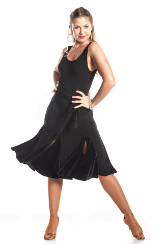 """Ooh La La!"" Latin Dance Dress - DanceLuxe Boutique"