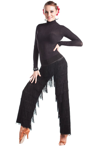 Dance Fringe Pants - DanceLuxe Boutique