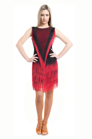 """Dellagio"" Latin Dance Dress"